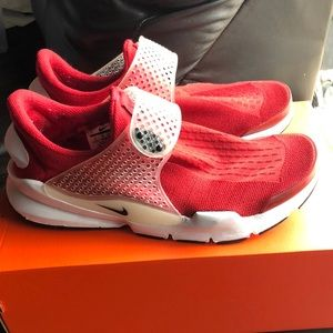 Nike Sock Dart Red size 9 in Men